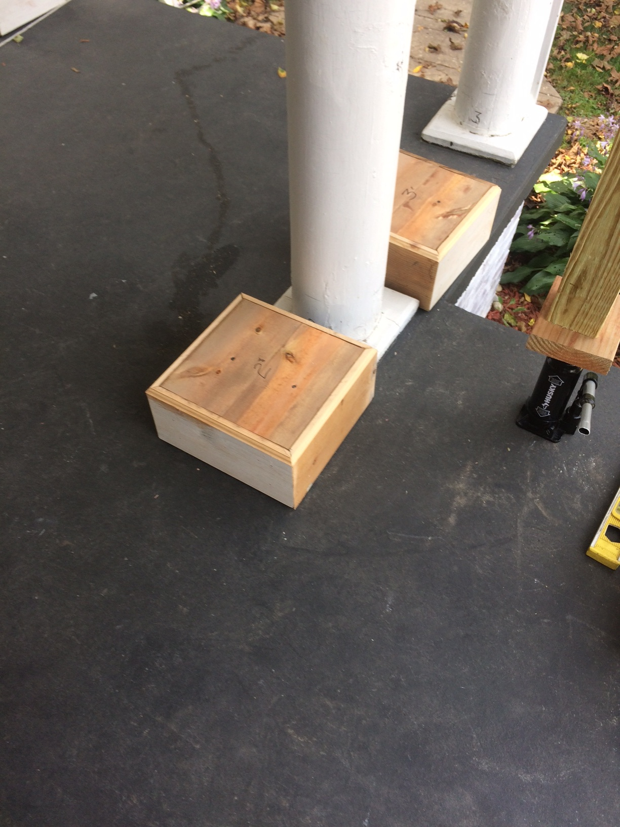 How To Remove And Replace A Porch Column Base In 10 Easy Steps Pallet Pantry